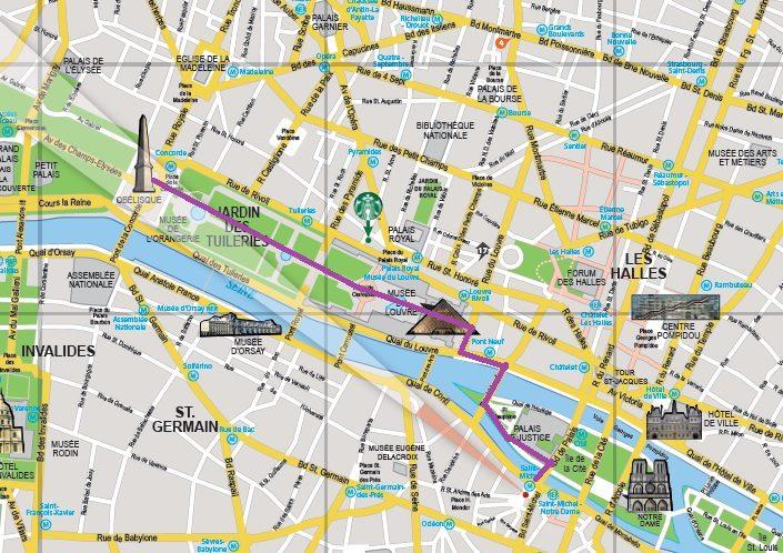 Mapa Free Tour