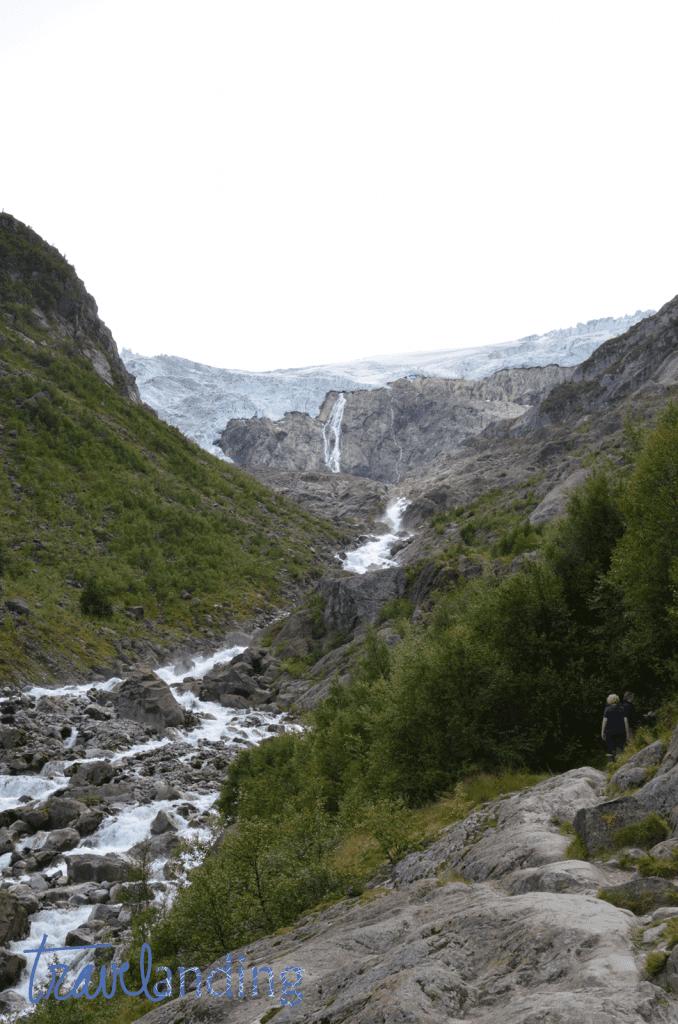Subida al glaciar