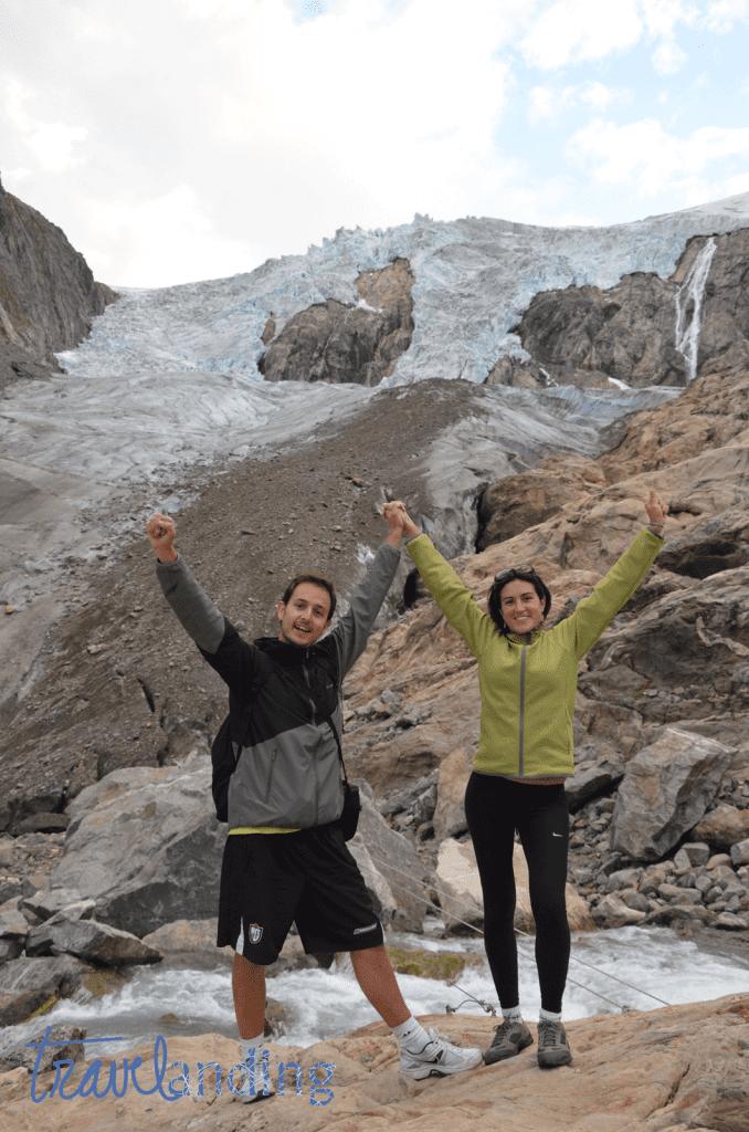 LLegada al Glaciar