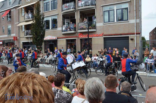 bandas en bici en Holanda