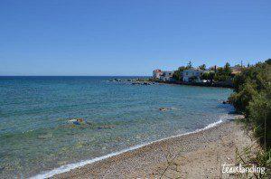Playa de Creta de piedras