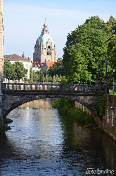 Río Leine Hannover