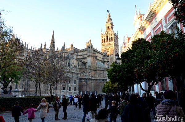 catedral en sevilla