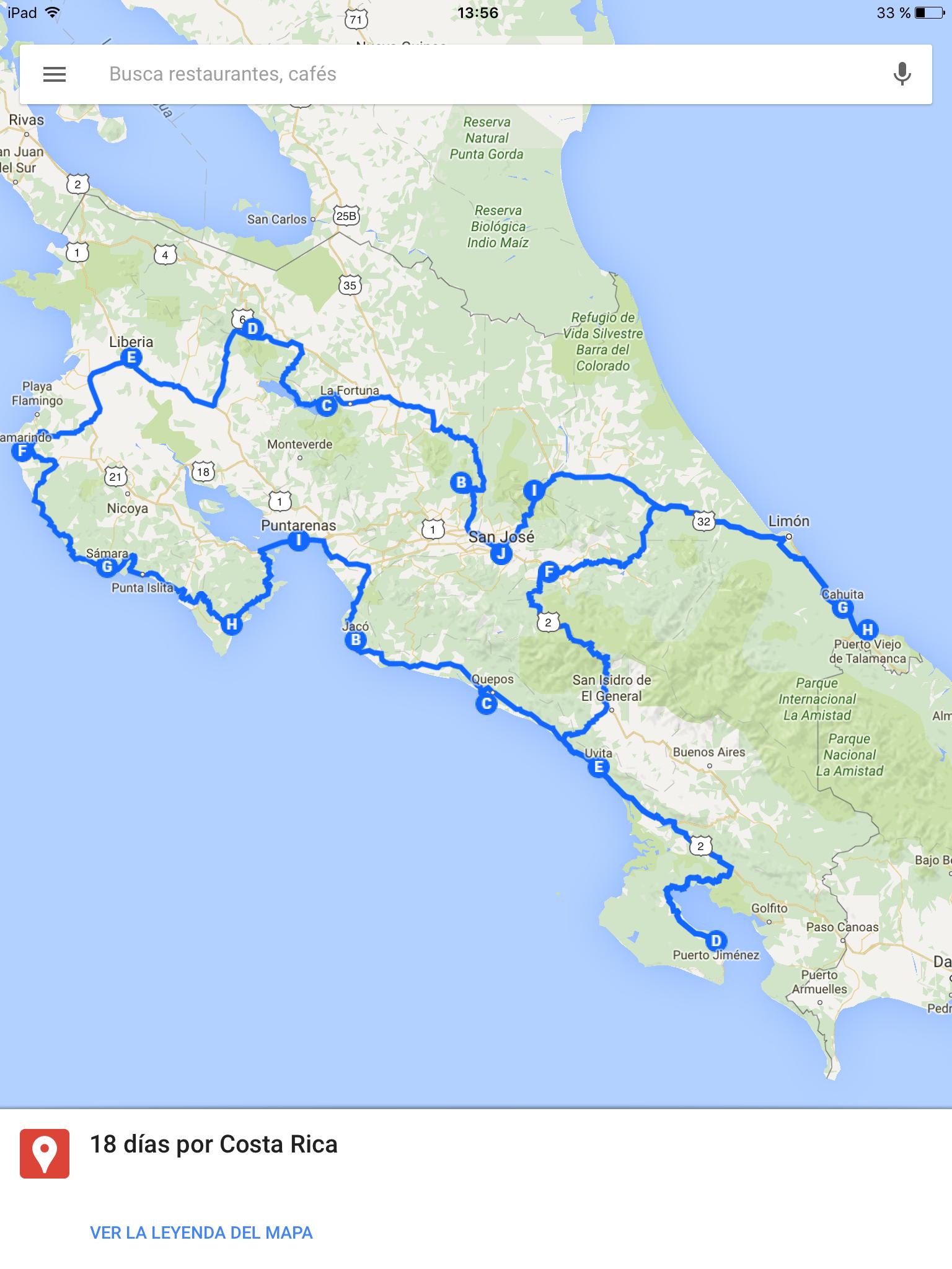 Ruta por Costa Rica, 18 días - Travelanding