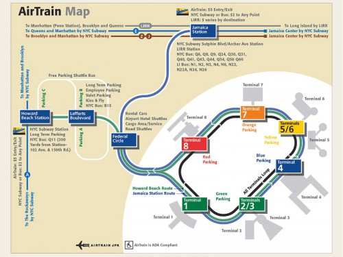 air train map
