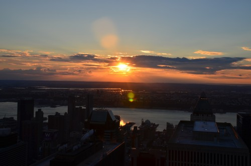 atardecer top of the rock