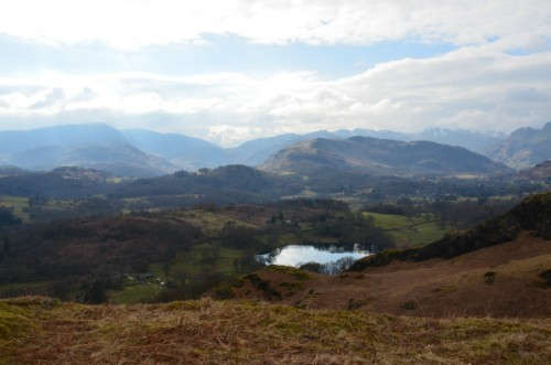 ruta Loughrigg Fell