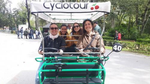 bici plaza españa