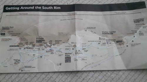 mapa gran cañon