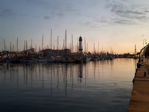 barceloneta y puerto