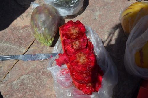 fruta en el cañon