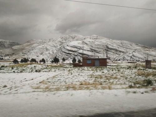 nieve chivay a puno
