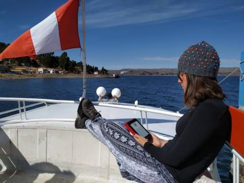 barco lago titicaca