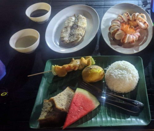 comida islas perhentian