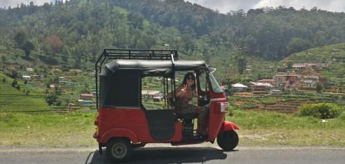 sri lanka en tuktuk