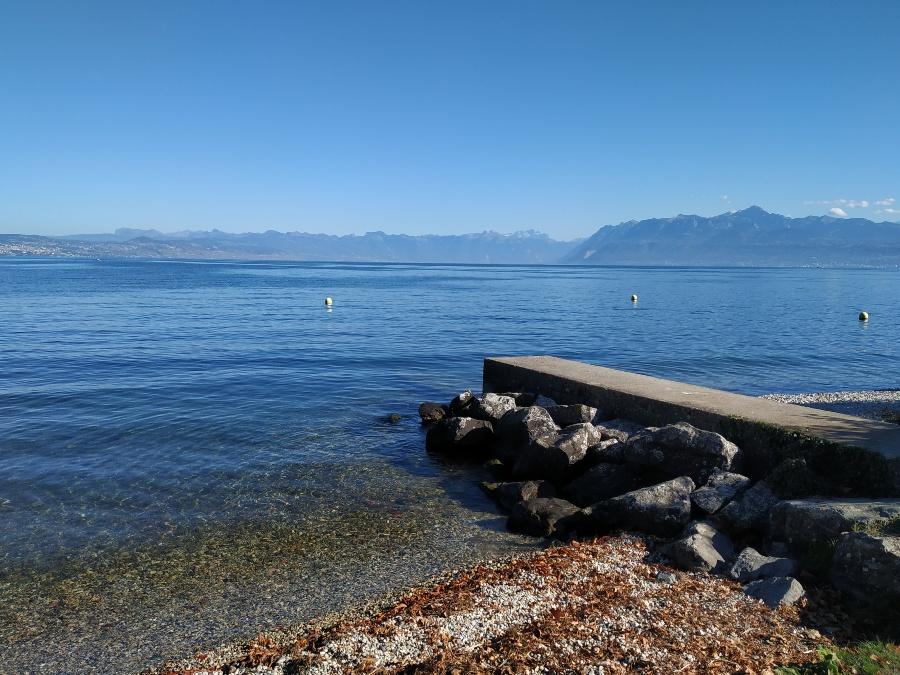 vistas lago leman
