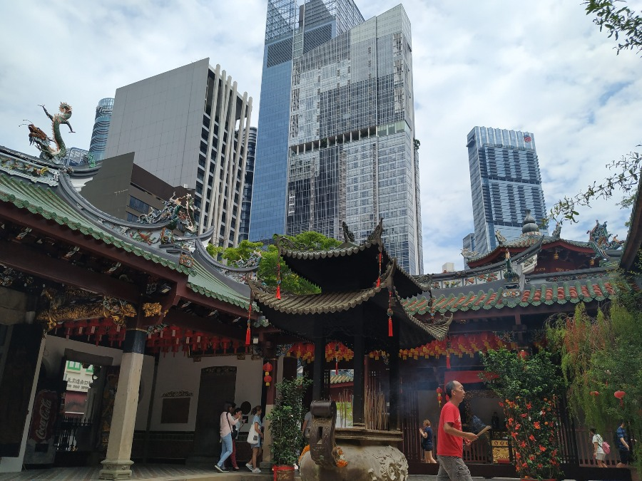 templos singapur