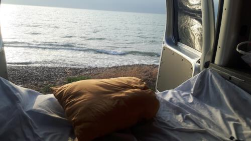 dormir en camper