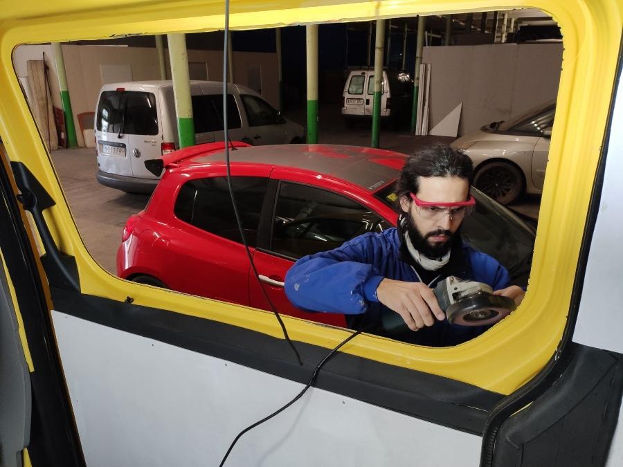 furgoneta homologada