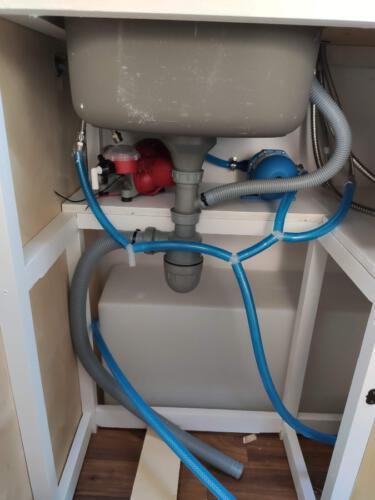 intalacion agua camper