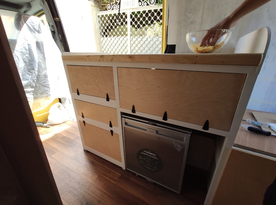 mueble cocina camper