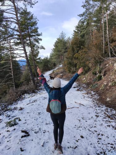 nieve ruta montgrony