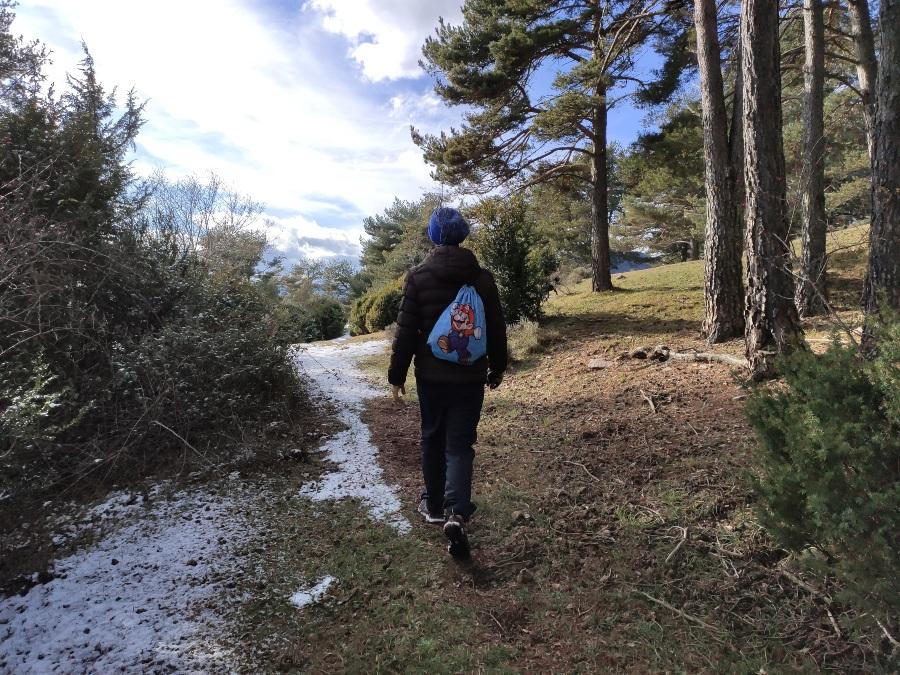 ruta senderismo montgrony