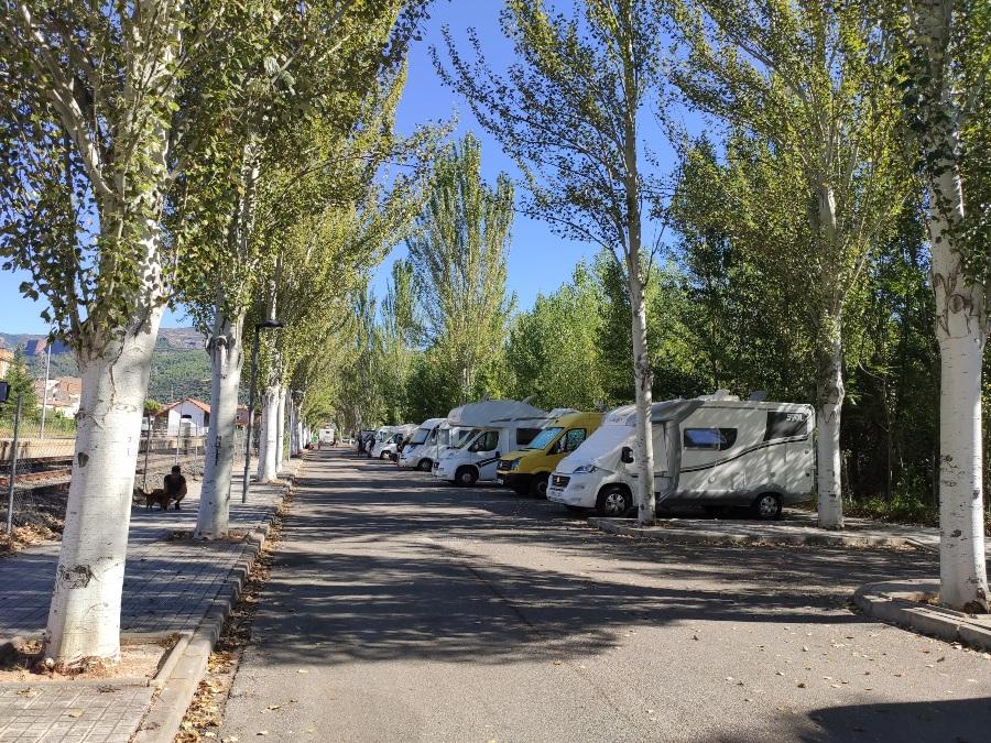 area caravanas pobla de segur
