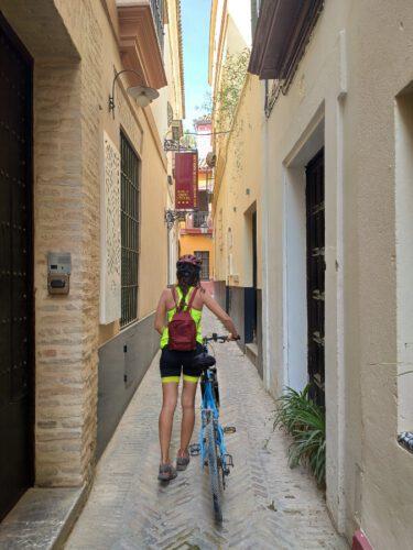 ruta en bici juderia
