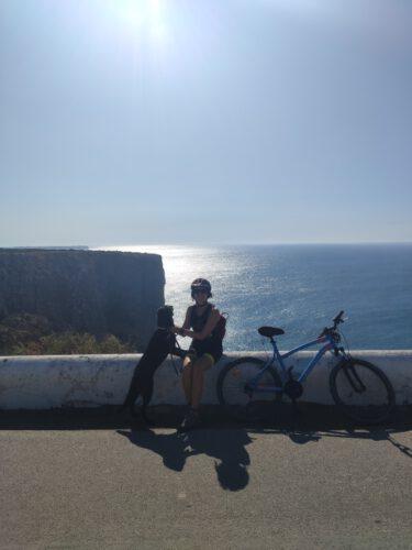 cabo san vicente en bici