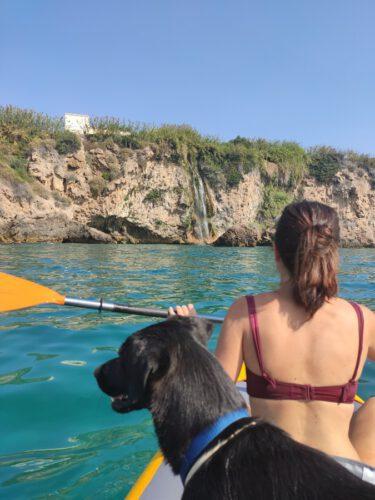 kayak cascada maro