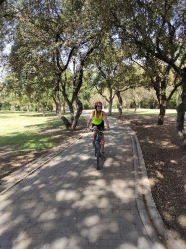 ruta en bici sevilla